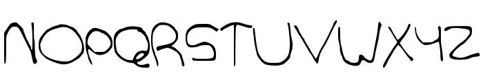 GentleGiant Font UPPERCASE