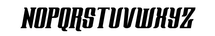 Gentleman Caller Condensed Italic Font LOWERCASE