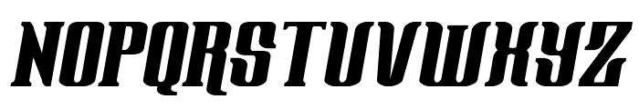 Gentleman Caller Italic Font UPPERCASE
