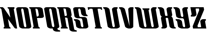 Gentleman Caller Leftalic Font UPPERCASE
