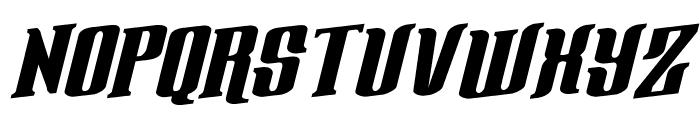 Gentleman Caller Rotalic Font UPPERCASE