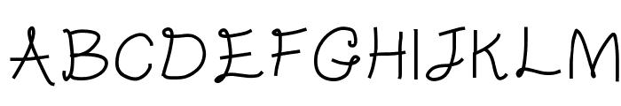 Gentleman Font UPPERCASE