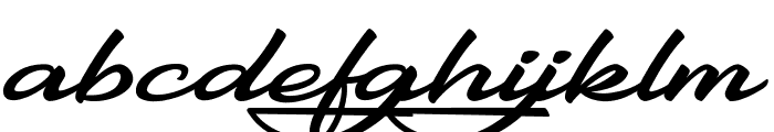 Gentlemanly Font LOWERCASE