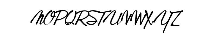 GentlemanontheRainbow Font UPPERCASE