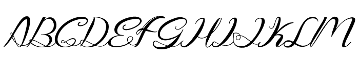 Genttalla Font UPPERCASE