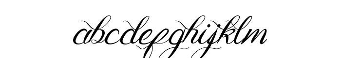 Genttalla Font LOWERCASE