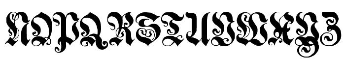 Genzsch Et Heyse Font UPPERCASE