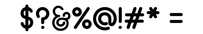 Geoma Regular Demo Font OTHER CHARS