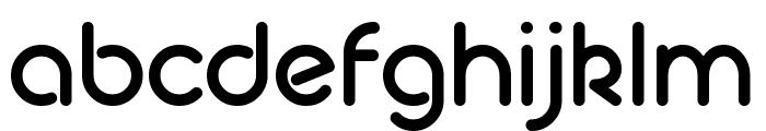 Geoma Regular Demo Font LOWERCASE
