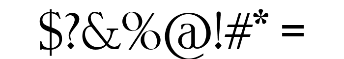 Geometri Outline Font OTHER CHARS