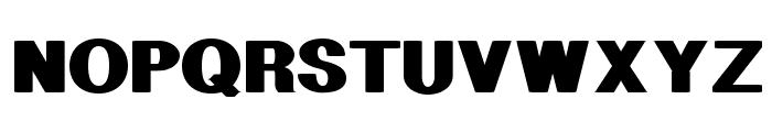 Geometric Font UPPERCASE