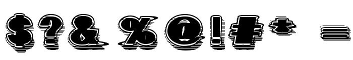 GeometricFog Font OTHER CHARS