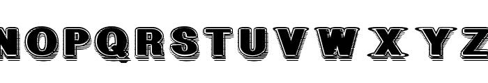GeometricFog Font UPPERCASE