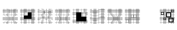 GeometricWanderlust Font OTHER CHARS