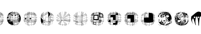 GeometricWanderlust Font LOWERCASE