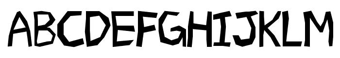 Geometrico Font UPPERCASE