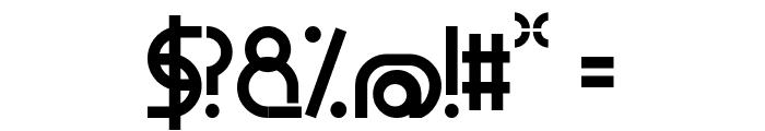 Geometyczna Font OTHER CHARS
