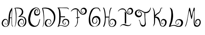 GeordanaRegular Font UPPERCASE