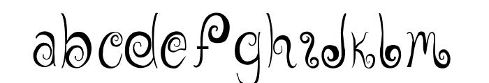 GeordanaRegular Font LOWERCASE