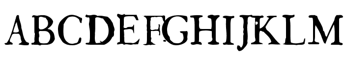 GeorgLight Font UPPERCASE
