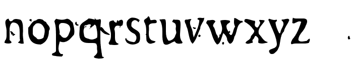 GeorgLight Font LOWERCASE