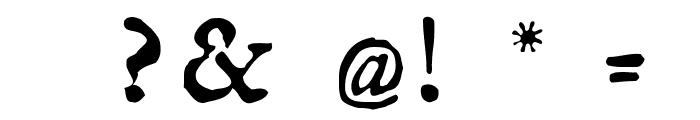 GeorgRegular Font OTHER CHARS