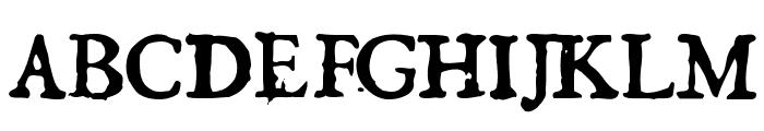 GeorgRegular Font UPPERCASE