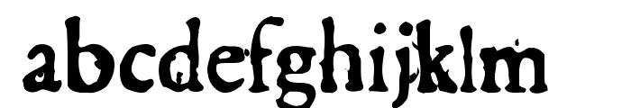 GeorgRegular Font LOWERCASE