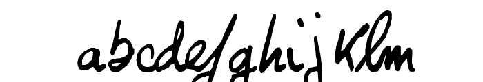 Georges Font LOWERCASE