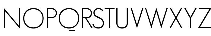 GeosansLight Font UPPERCASE