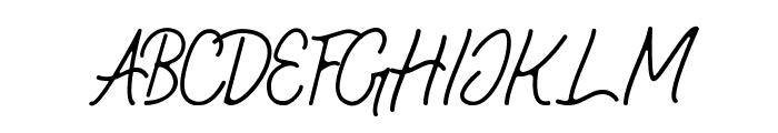 Geralia - DEMO Regular Font UPPERCASE