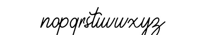 Geralia - DEMO Regular Font LOWERCASE