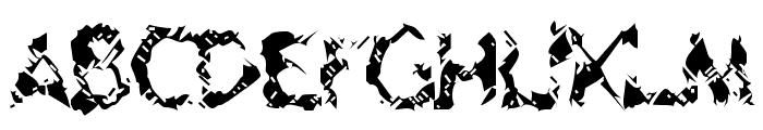 Geriatric Font UPPERCASE
