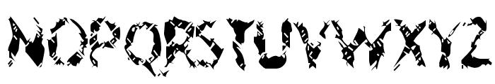 Geriatric Font LOWERCASE