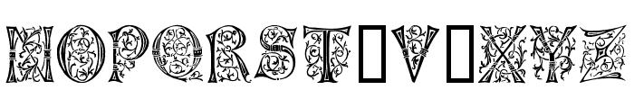 German Caps Font UPPERCASE