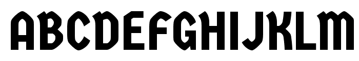 Germania One Font UPPERCASE