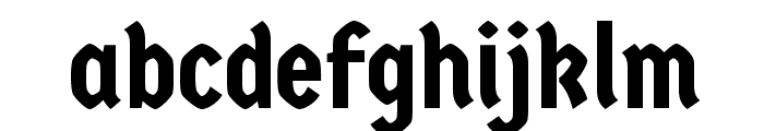 Germania One Font LOWERCASE