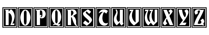 GermaniaVersalien Font LOWERCASE