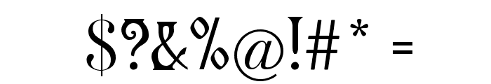 Germanica Font OTHER CHARS