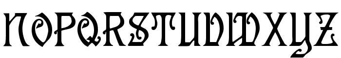 Germanica Font UPPERCASE
