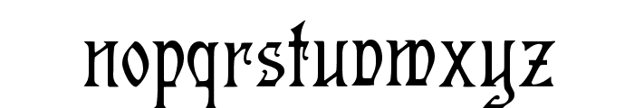 Germanica Font LOWERCASE