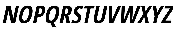 Germano-BoldOblique Font UPPERCASE