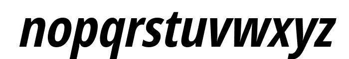 Germano-BoldOblique Font LOWERCASE