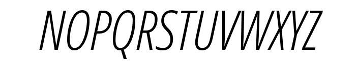 Germano-Italic Font UPPERCASE