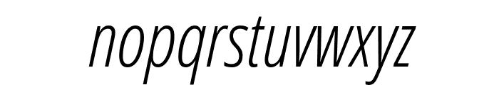 Germano-Italic Font LOWERCASE
