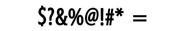GershwinBold Font OTHER CHARS