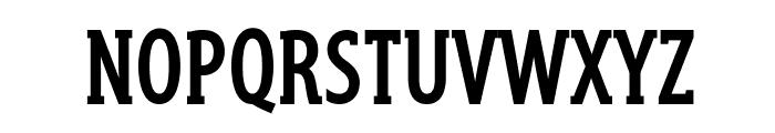 GershwinBold Font UPPERCASE