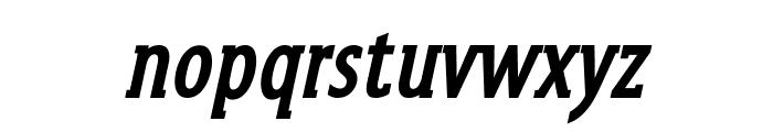 GershwinBoldOblique Font LOWERCASE