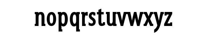 GershwinBold Font LOWERCASE