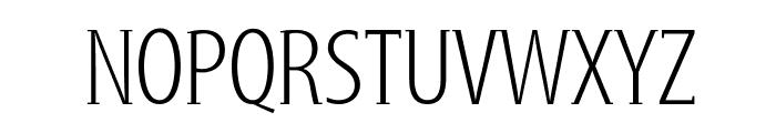 GershwinLight Font UPPERCASE